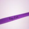 Foxy Lash Purple Brush Close Up