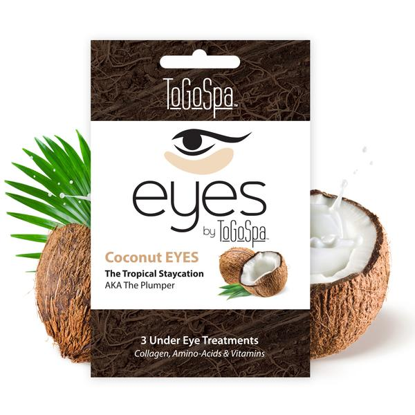 ToGoSpa Coconut Eyes Collagen Amino Acids and Vitamins