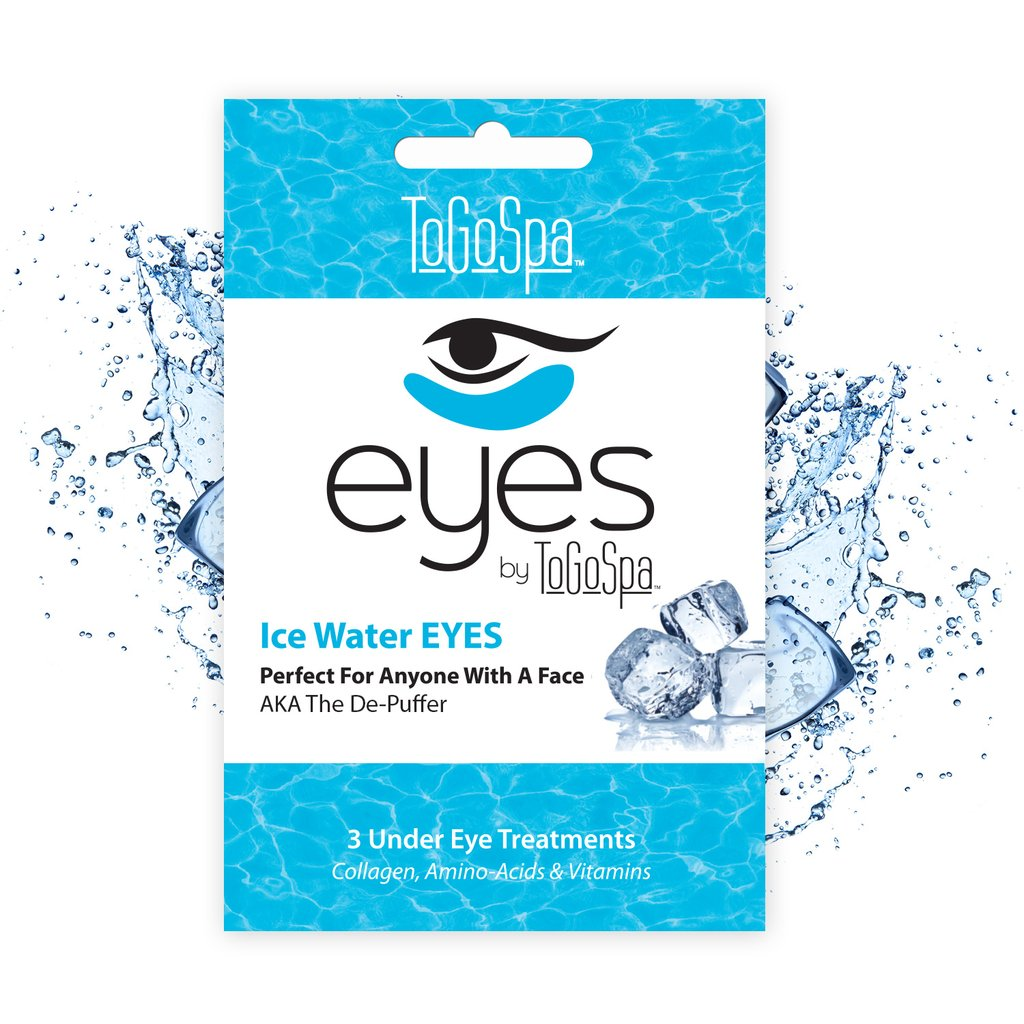 ToGoSpa Ice Water Eyes Collage, Amino Acids and Vitamins
